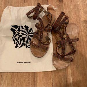 Isabel Marant Lapaz Gladiator Sandals